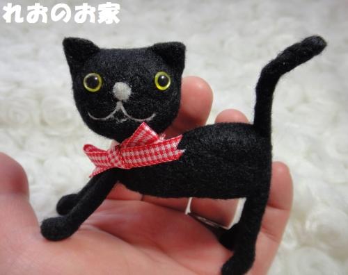 黒猫のび5