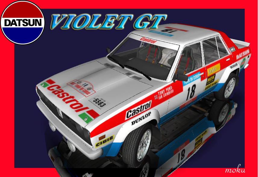 DATSUN VIOLET GT_LHD