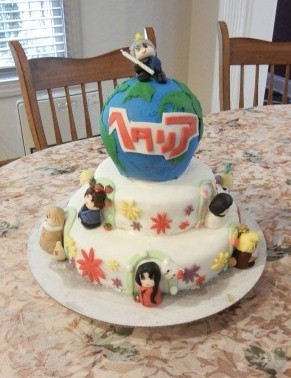 ヘタリアケーキ