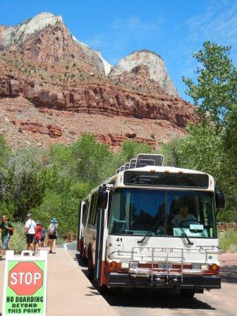 ザイオンのバス