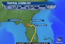 hurricane fay