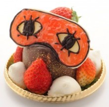 $アラバマ生活雑記帳-沖田のアイマスクケーキ