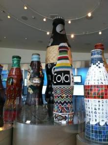 $アラバマ生活雑記帳-coke bottles