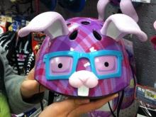 $アラバマ生活雑記帳-bunny helmet
