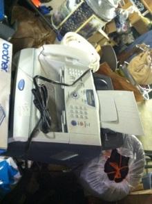 $アラバマ生活雑記帳-fax machine