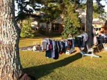 アラバマ生活雑記帳-洗濯物に非ず