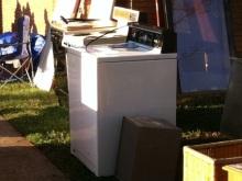 アラバマ生活雑記帳-洗濯機