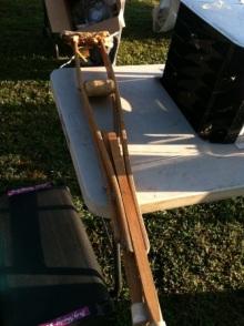 アラバマ生活雑記帳-松葉杖