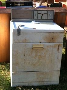 アラバマ生活雑記帳-壊れた洗濯機