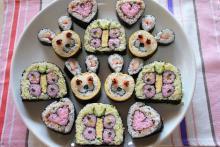 $アラバマ生活雑記帳-飾り寿司