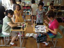 $アラバマ生活雑記帳-秋田の小学校訪問3