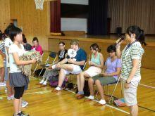 $アラバマ生活雑記帳-秋田の小学校訪問1