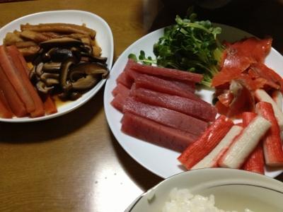 12.13晩飯