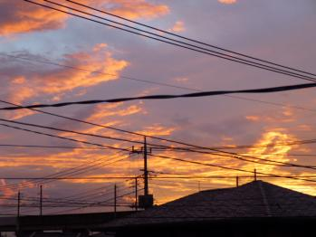 2012.夕焼け