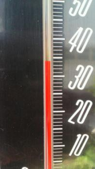 気温34度2012.7.19