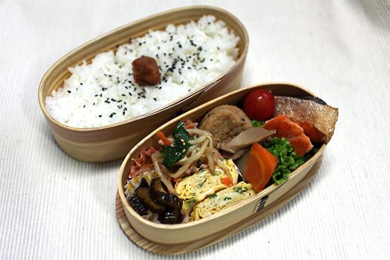 鮭のハーブ焼き弁当