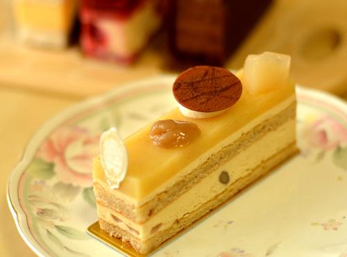 【ケーキ】エーグル・ドゥース「ポワールマロン」
