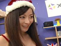 【無修正】クリスマスにこんな女がプレゼントだったら