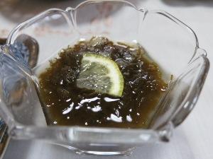 もずくの生姜酢