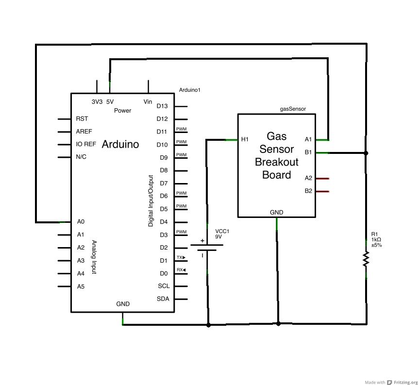 gas sensor_回路図