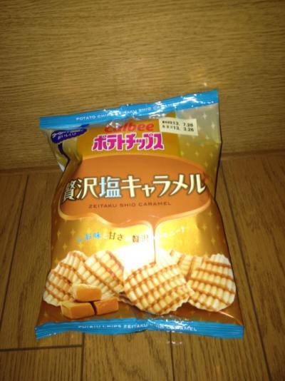 2013 04 10 ポテチ贅沢塩キャラメル
