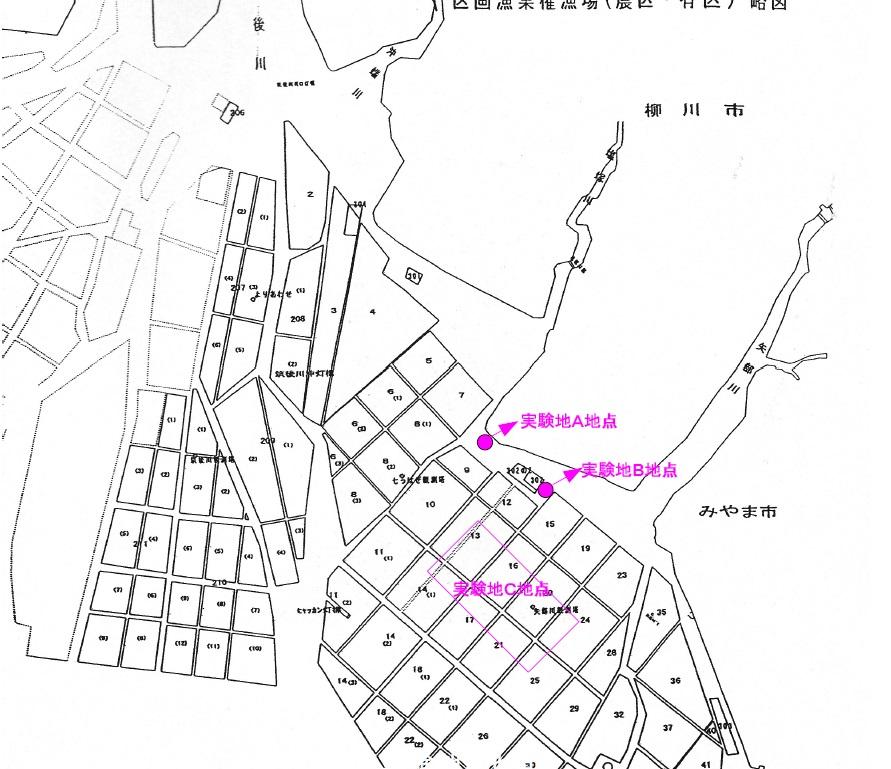 実験地地図