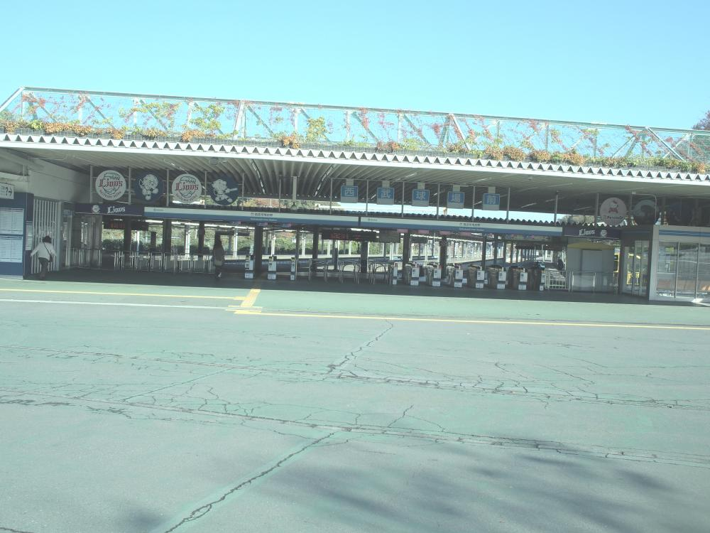 西武球場前駅
