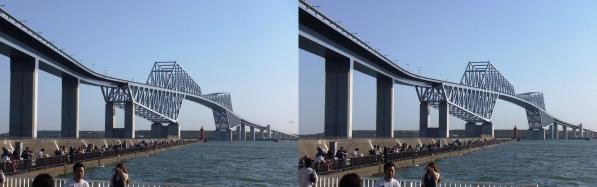 東京ゲートブリッジ②(平行法)