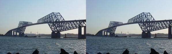 東京ゲートブリッジ④(平行法)