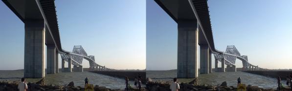 東京ゲートブリッジ③(平行法)