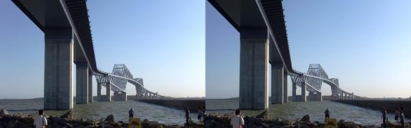 東京ゲートブリッジ③(交差法)