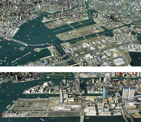 晴海トリトン・晴海埠頭 MAP