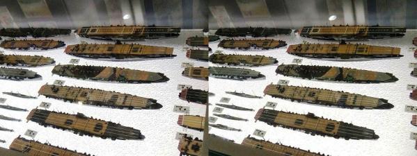 連合艦隊模型①(交差法)