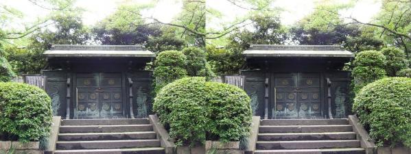 増上寺⑩(交差法)