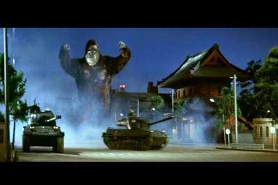 キングコングの逆襲 増上寺シーン