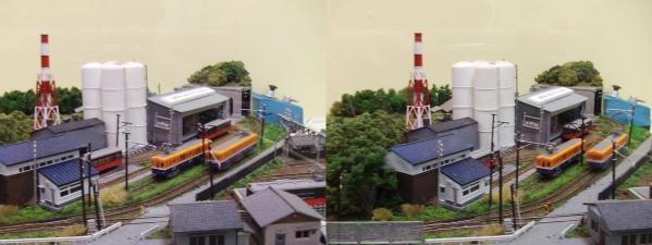 鉄道模型⑩(交差法)