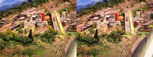 鉄道模型⑨(平行法)