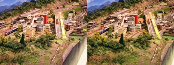 鉄道模型⑨(交差法)