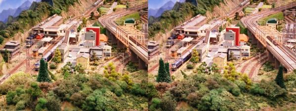 鉄道模型⑦(平行法)