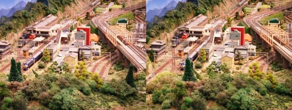 鉄道模型⑦(交差法)