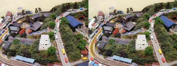 鉄道模型⑥(交差法)