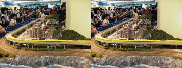 鉄道模型④(平行法)
