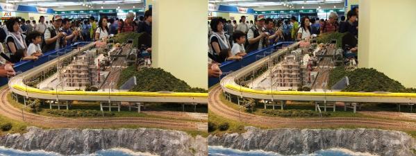 鉄道模型④(交差法)