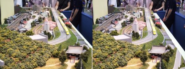 鉄道模型③(平行法)