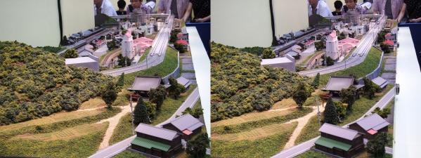 鉄道模型②(平行法)