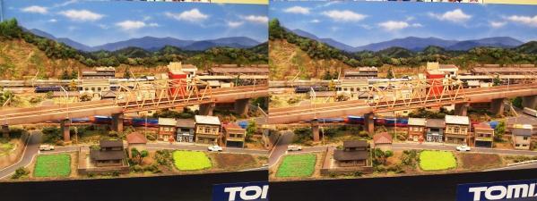 鉄道模型①(平行法)