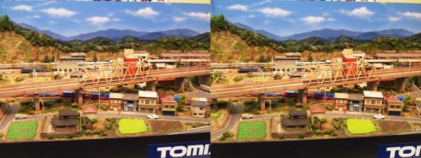 鉄道模型①(交差法)