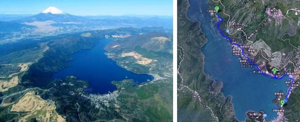 芦ノ湖パワースポットサイクリングコース