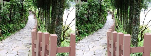 芦ノ湖畔道(平行法)