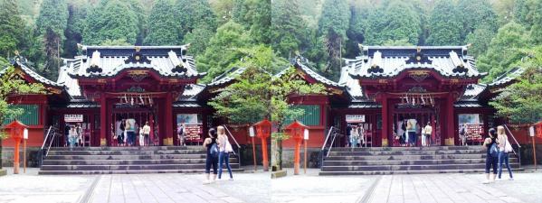 箱根神社③(平行法)